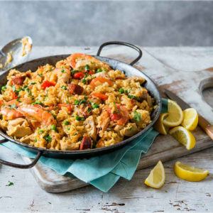Paella and Risotto