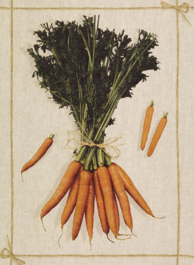 Tea Towels Linen – Carrot