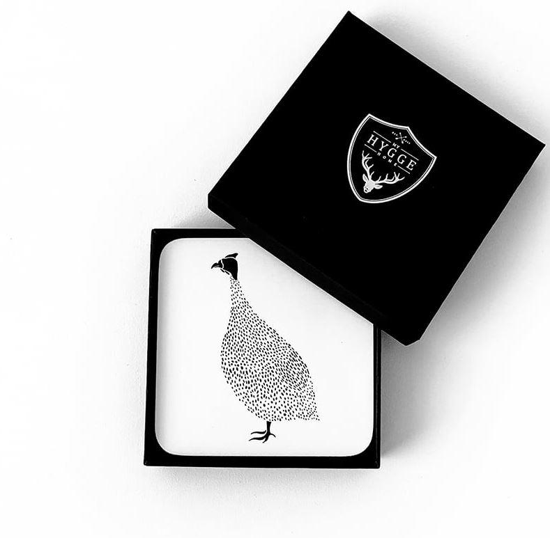 Coasters – Guinea Fowl