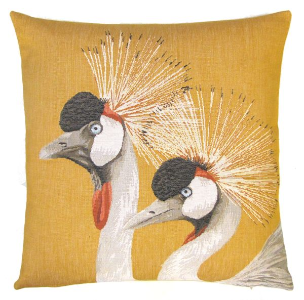 Belgium Cushion – Tropical Birds