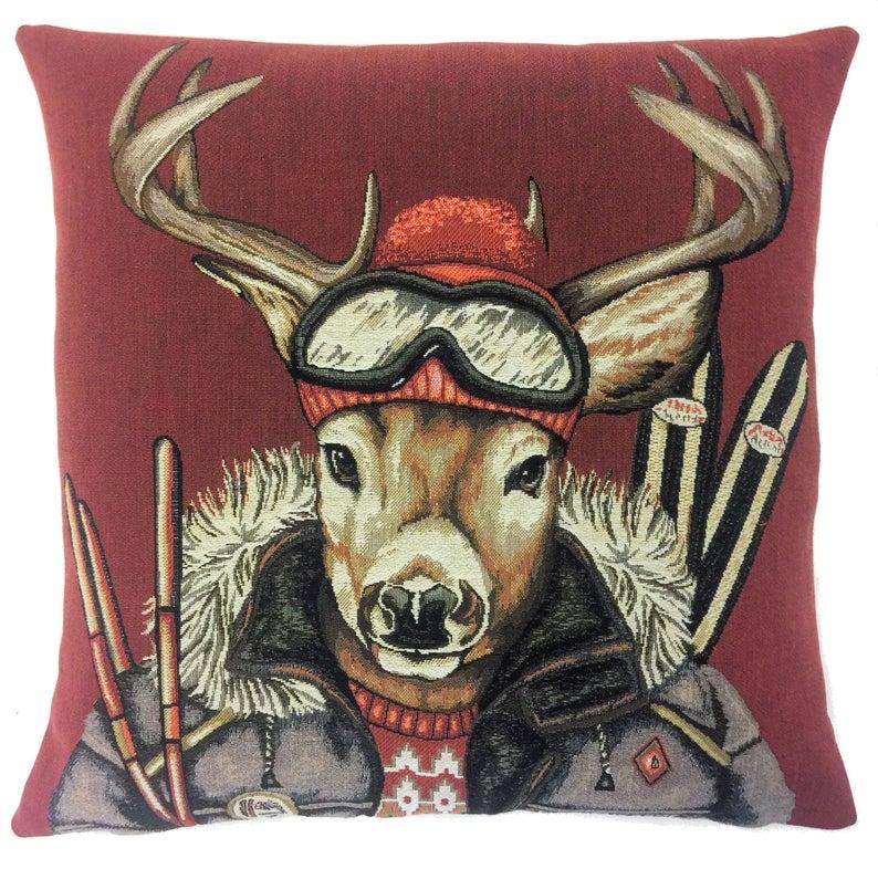 Belgium Cushions – Red Deer