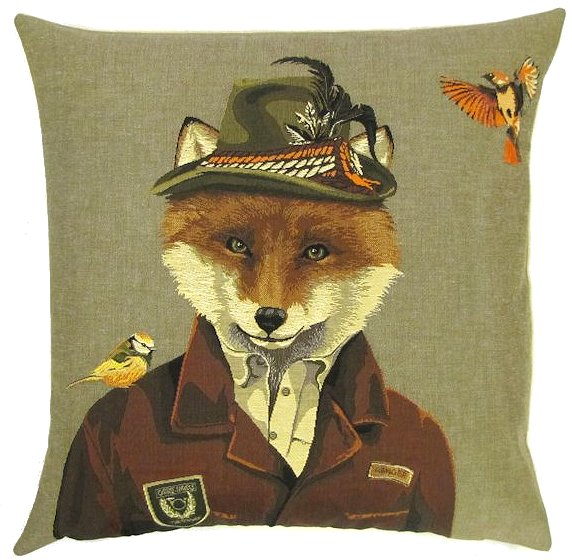 Belgium Cushion – Austrian Fox