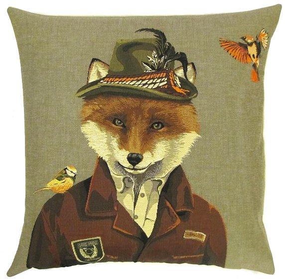 Belgium Cushion – Austrian Fox