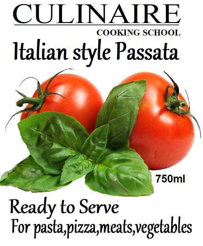 Sauces – Tomato Passata