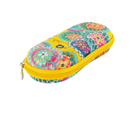 Pylones – Glasses Case -yellow