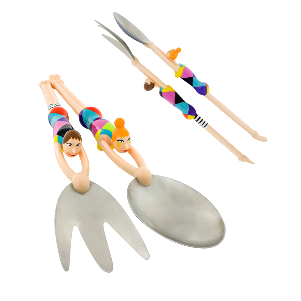 Pylones-Salad Servers – Swimmers
