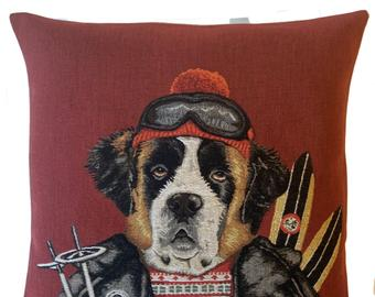 Belgium Cushion – Rescue dog