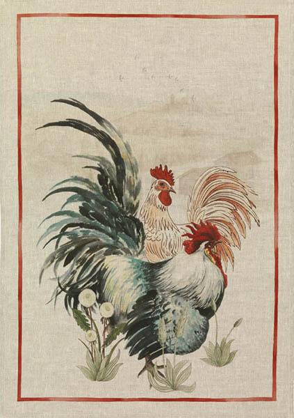 Tea Towels Linen – Rooster