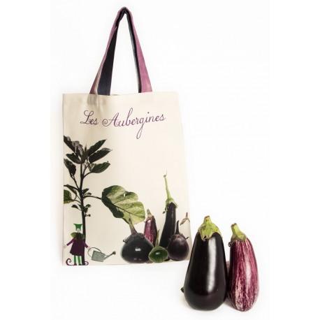 Shopping Bags – Eggplant