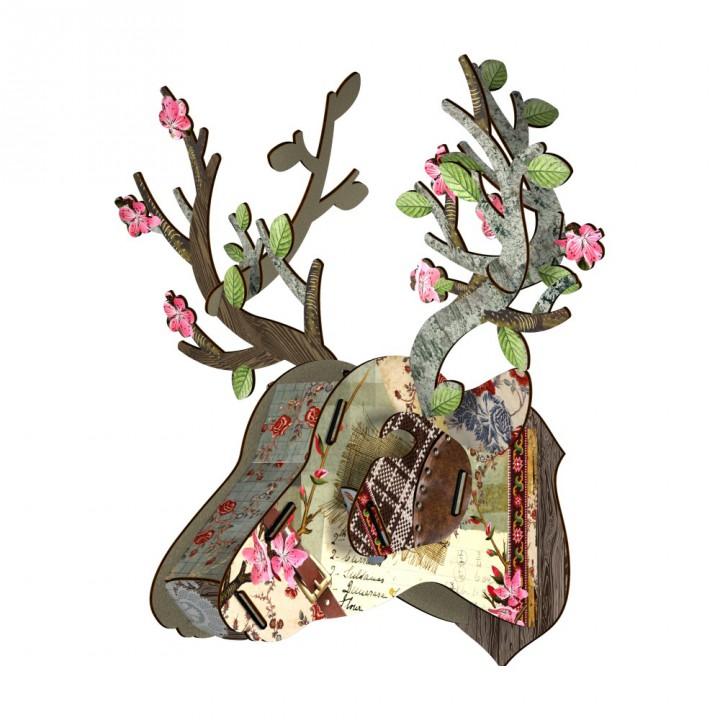Deer Head – Tres Chic