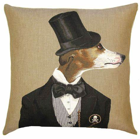 Belgium Cushion – Top Hat Whipped