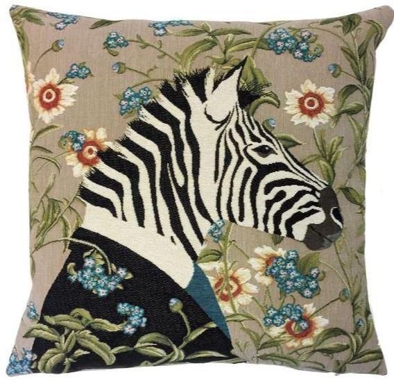 Belgium Cushion – Zebra