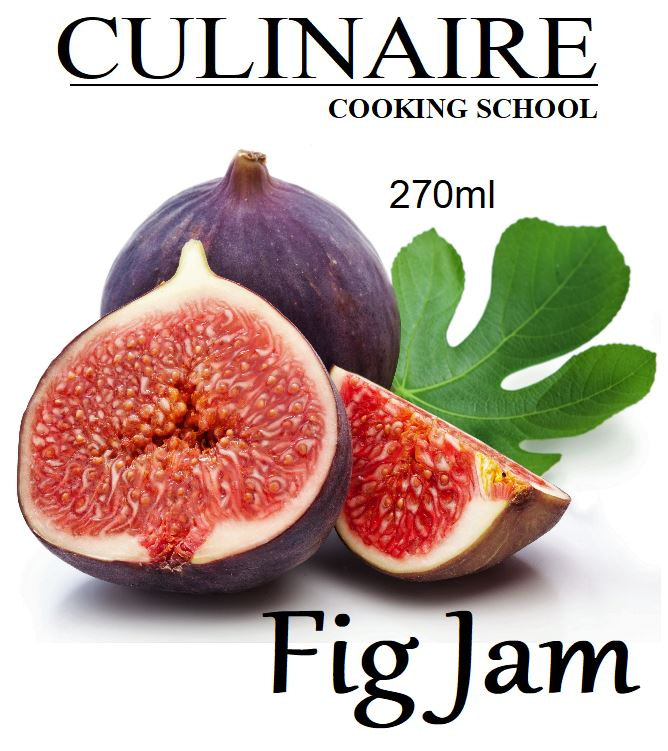 Fig & Fresh Ginger Jam