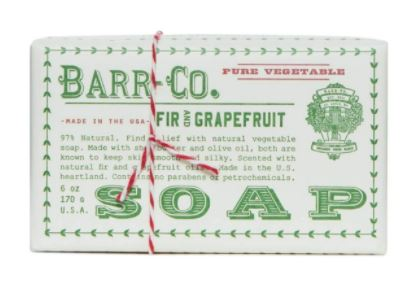 Soaps –  Barr-Co Fir & Grapefruit