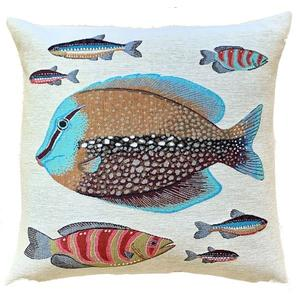 Belgium Cushion – Tropical fish 1