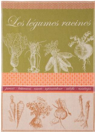 Tea towel- Cotton radishes