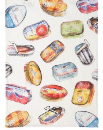 Tea towels Linen – Sardines