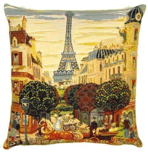 Belgium Cushion – City life France