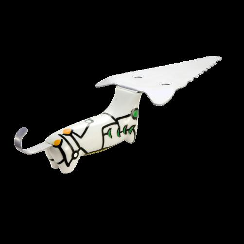 Pylones – Cake Lifter dog – white