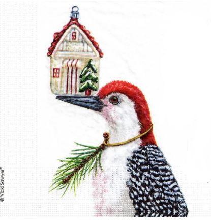 Napkins  Paper – Luncheon – Christmas bird