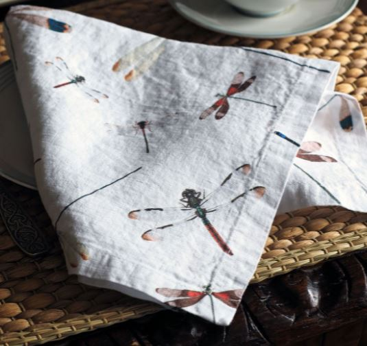 Napkins 100%Pure Linen LINOROOM from Lithuania