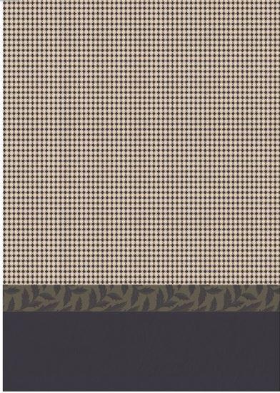 Hand towels Cotton weave-Jacquard Le Francais-Josephine grey